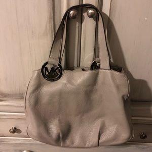 Gray Michael Kors Bag